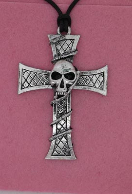P506 Skull on Cross