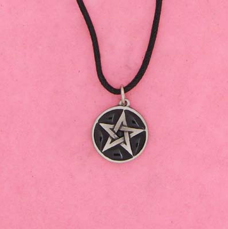 P0889 Black Pentagram
