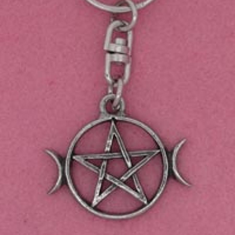 KR0637 Pentagram & Moons