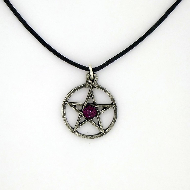 P0648 Amethyst Pentagram